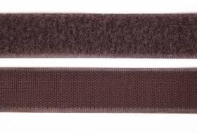 Klettband 16 mm, braun