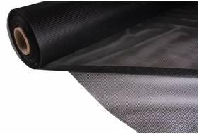 Gaasdoek Batyline 380 grams polyester 180 cm, zwart