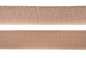 Klettband 25 mm, beige
