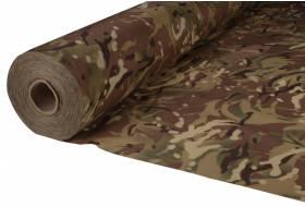 Camouflage stof. Waterdicht. Lichtgewicht nylon ripstop 150 cm, 80 gr/m² MULTICAM