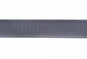 Klittenband 20 mm grijs, harde zijde, haak