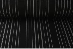 Sattler zonneschermdoek 295 grams 120 cm, zwart/zilver 407