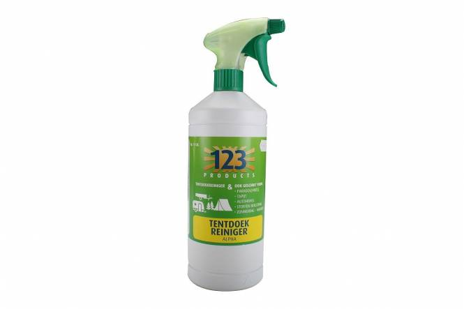 123 Products Alpha Zeltstoffreiniger.