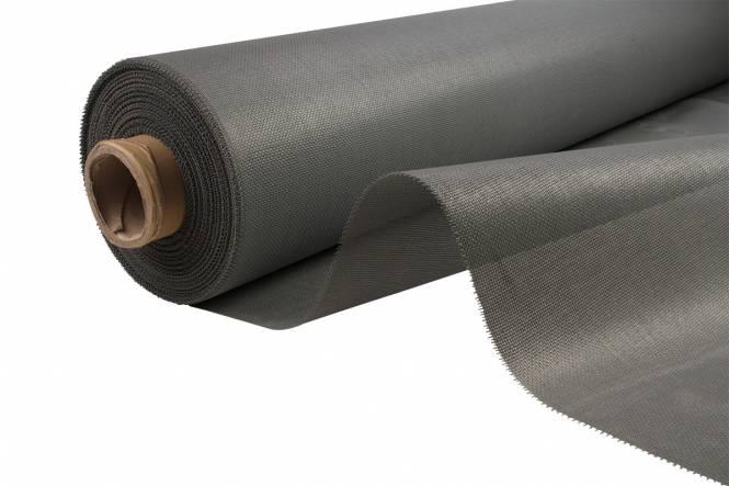 PVC Mesh / Gitter gewebe 210 cm, grau